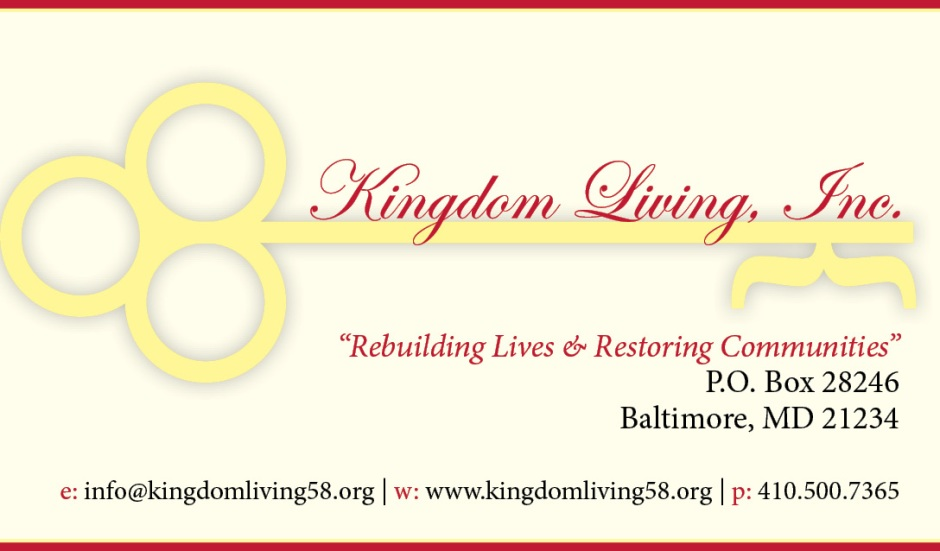 Kingdom Living business card_front