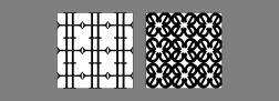 lettered patterns