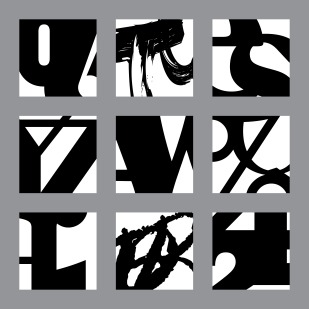 magnified letters